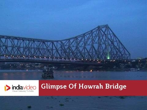 Glimpse Of Howrah Bridge -  Kolkata West Bengal | India Video