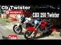 Cb Twister Vs Cbx Twister 250 Rachinha Do Ano Acelerando Forte / Roberto Moto Filmador