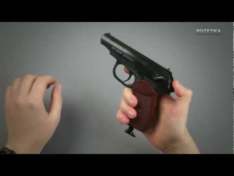 Обзор пневматического пистолета ИЖмех Байкал МР-654К Макаров