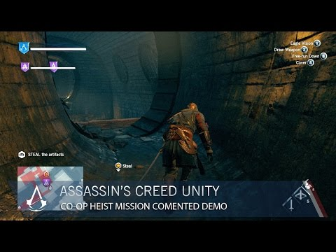 Assassin's Creed Unity: Co-op Heist Mission Commented Demo | Gameplay | Ubisoft [NA]