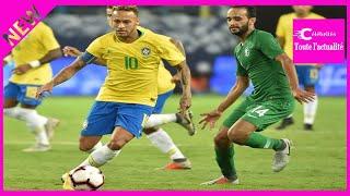 Amical: Neymar porte un Brésil peu inspiré en Arabie saoudite