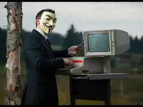 Anonymous Resistance Begins NOW. System Failure Imminent.