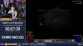 #ESASummer18 Speedruns - Diablo II: Lord of Destruction [Any% (Normal)] by Ellieceraptor