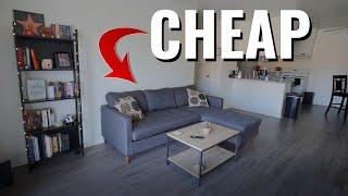 $1200/mo CHEAP CALIFORNIA Apartment Tour