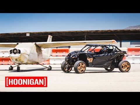 [HOONIGAN] Field Trip 008: Ken Block Gymkhana Testing CanAM X3 With Jason Ellis