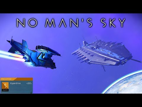 S CLASS 34 SLOT CAPITAL FREIGHTER & TIPS TO GET YOUR OWN in NMS