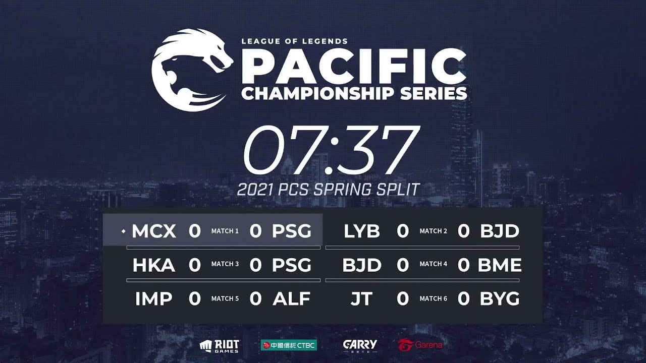 [TH] Week 1 Day 1   PCS Spring Split (2021)