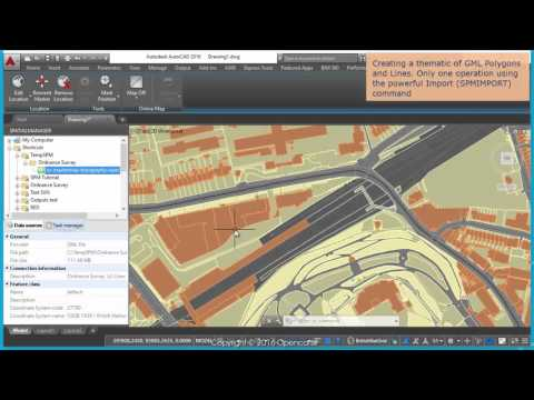 Ordnance Survey data, image and maps (AutoCAD - part 1) - Spatial Manager TP