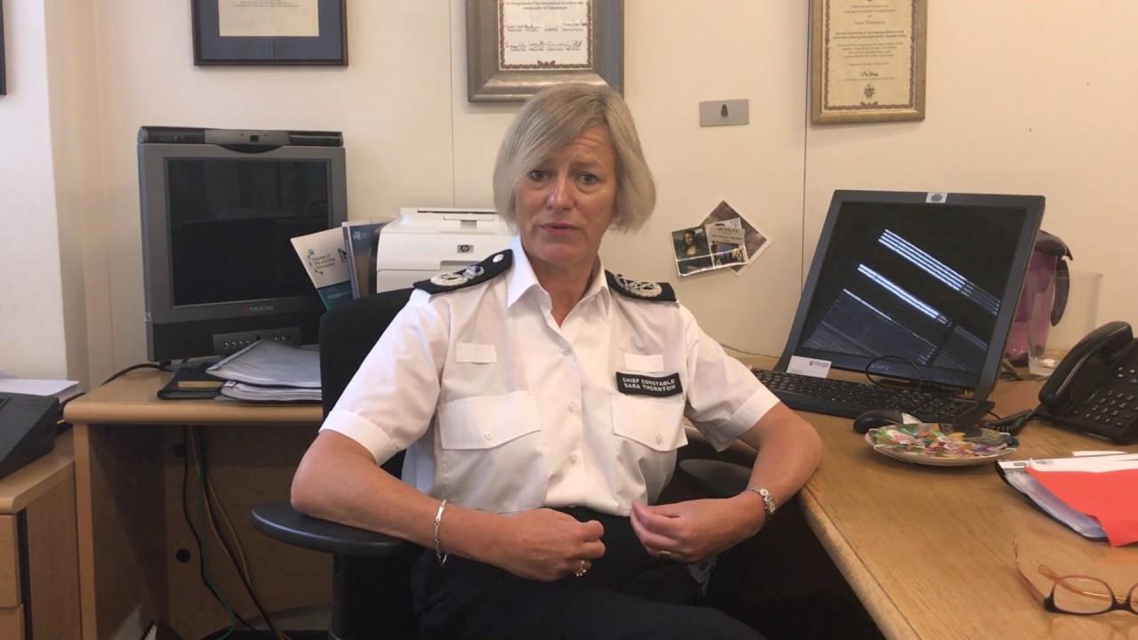 CC Sara Thornton Chief Constables Council July 2017