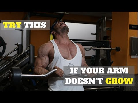 This Simple Trick EXPLODED My BICEPS To Growth