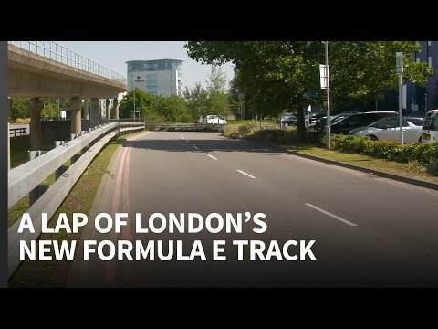 Video: Exclusive first look at London's new Formula E circuit