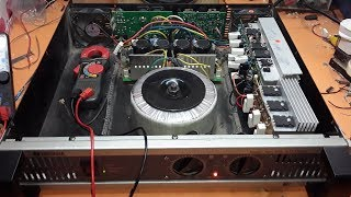 yamaha amplifier repair and add more transistor for making more watts, electronics
