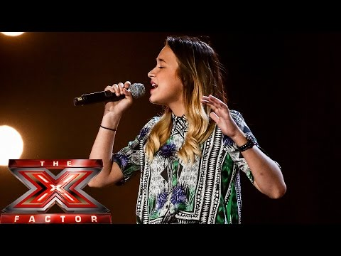 Lauren Platt sings Michael Jackson's Man In The Mirror | Boot Camp | The X Factor UK 2014