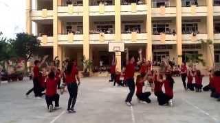 Nhảy lửa - 11A3 Thpt Nguyễn Việt Hồng - Bài Ngọn lửa cao nguyên