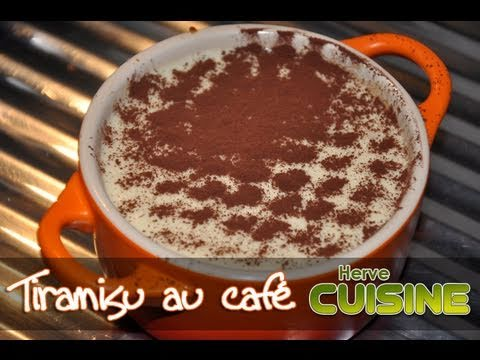 Recette Du Tiramisu Traditionnel Au Cafe Par Herve Cuisine Youtube