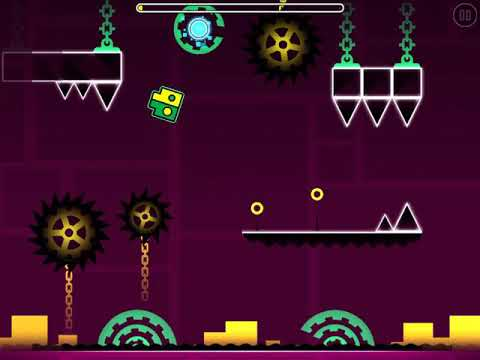Level 12 Is Beginning Of Time (by Me) (GEOMETRY DASH 1.5)