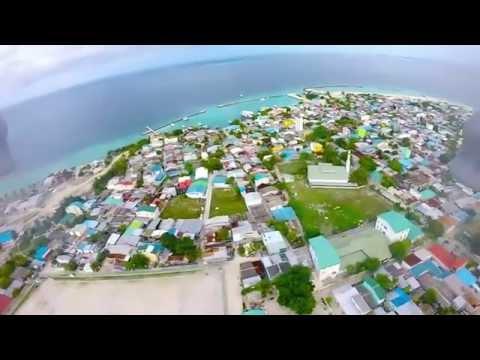 Flying Above Naifaru, Maldives (Walkera QR X350 Pro & GoPro)