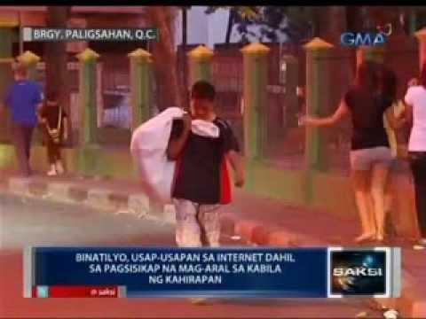 Binatilyong palaboy, pinag-uusapan sa internet dahil sa pag-iipon niya mula sa pamamasura