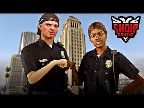 GTA 5 SHQIP - Policia, Arrestimi dhe Eksperimente !! - SHQIPGaming