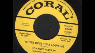 Romance Watson - Where does that leave me - Northern Soul.wmv