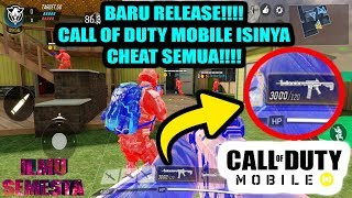 MIRIS!!!! BARU RELEASE CALL OF DUTY MOBILE UDAH BANYAK CHEAT??5 JENIS CHEAT CALL OF DUTY MOBILE!!!!