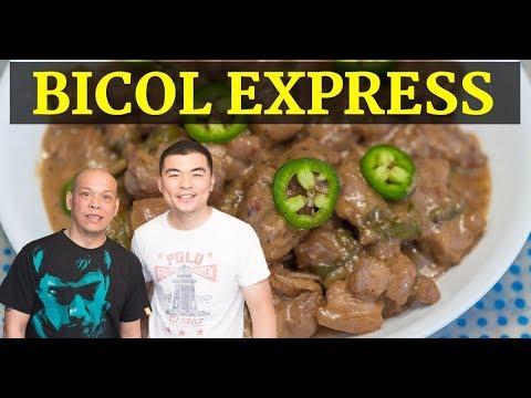 How to Cook Bicol Express ala Bebet - Panlasang Pinoy ...