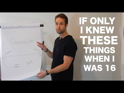 """What I Wish I knew When I was 16"" 