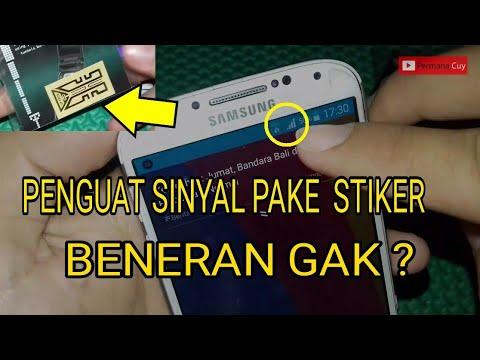 Penguat Sinyal HP Pakai Stiker ! Beneran Gak Sob