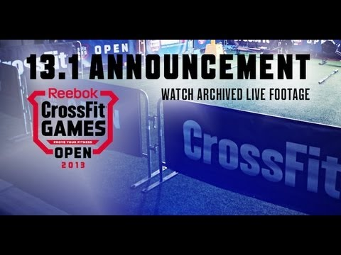 CrossFit - Open Workout 13.1 Archived Live Annoucement Footage