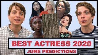 Best Actress 2020 Predictions (June)