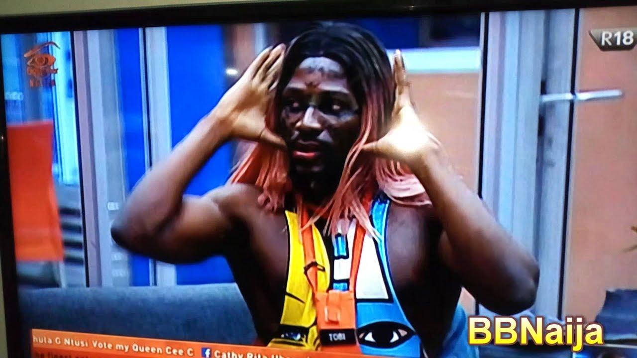 Download Tobi Make-up in Big Brother Naija