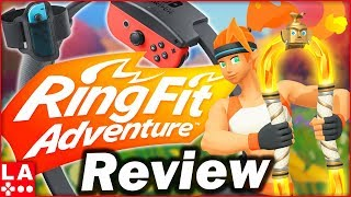 Ring Fit Adventure Review | Nintendo Switch (Video Game Video Review)