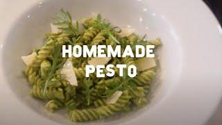 How To Make Quick Homemade Pesto