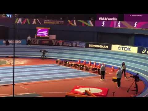 Michelle Lee-Ahye World Indoor Champs 2018