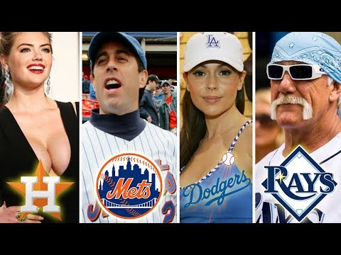 The Biggest Celebrity Fan From All 30 MLB Teams