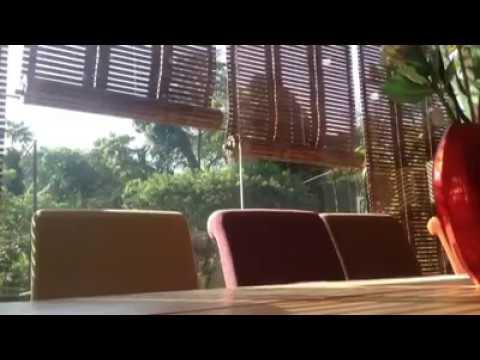 teak wood blinds