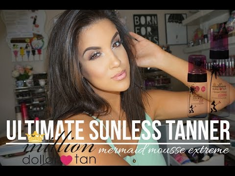 Ultimate Summer Sunless Tan | Million Dollar Tan Mermaid Mousse Extreme