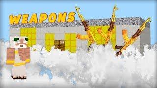 Noob vs Pro vs God : GOD's GUN SHOP Minecraft Battle animation challenge