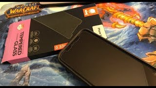 видео Обзор защитных стекол для iPhone X