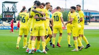 Resumen Villarreal B 5-1 Sevilla Atlético