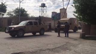 Coffins of Afghan Soldiers Loaded on Trucks After Base Attack