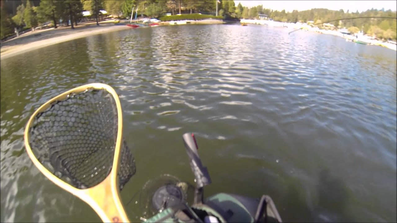 Lake gregory 9 27 2014 youtube for Lake gregory fishing report
