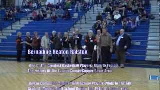 FCSHOF - Fannin County Sports Hall Of Fame - Bio - Bernadine Heaton Ralston