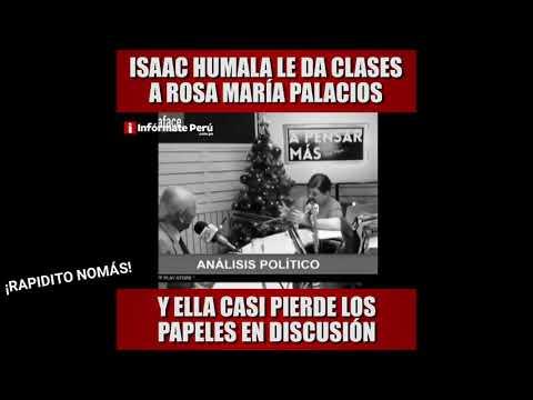 ROSA MARÍA PALACIOS ENTREVISTA A ISAAC HUMALA