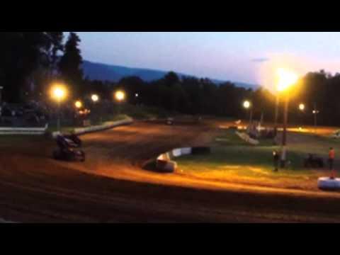 305 Sprints - Heat 2 - Clinton County Raceway