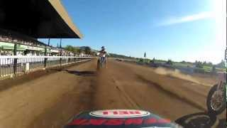 Jared Mees Fights For Second At Santa Rosa Mile