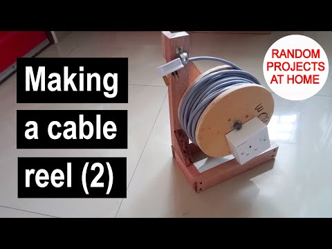 Project: Making A Cable Reel (2)