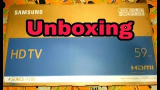 Unboxing Samsung UA24K4100ARLXL 59 cm 24 inches HD Ready LED TV Black