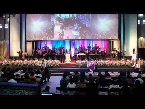 Worship at Church in Indonesia