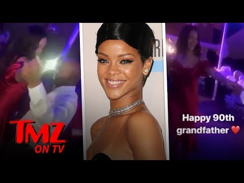 Mikey V - Rihanna Dances W/ Her Grandpa For His 90th Bday!!